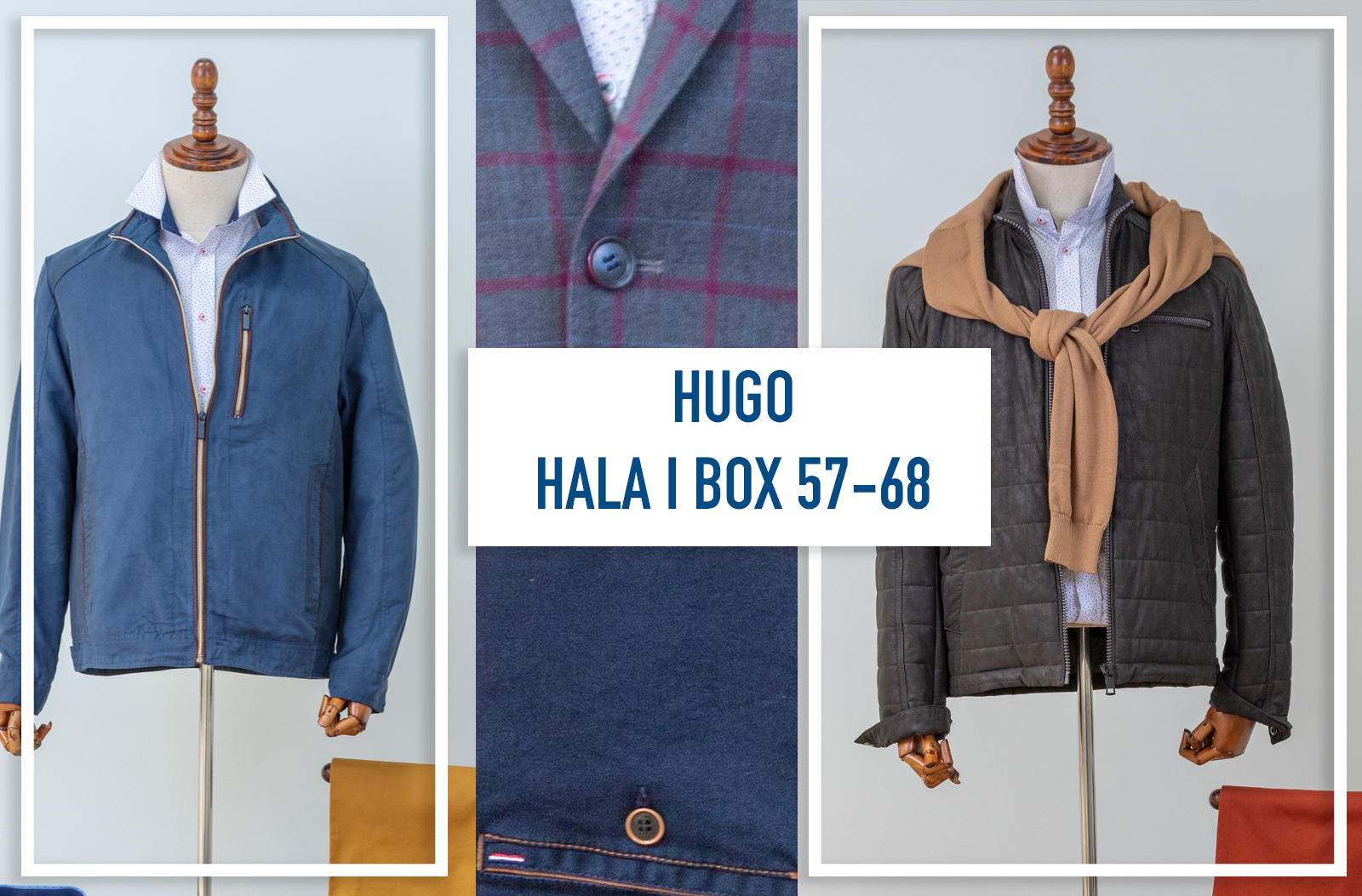 Hala 1 box 57,68, 222 HUGO